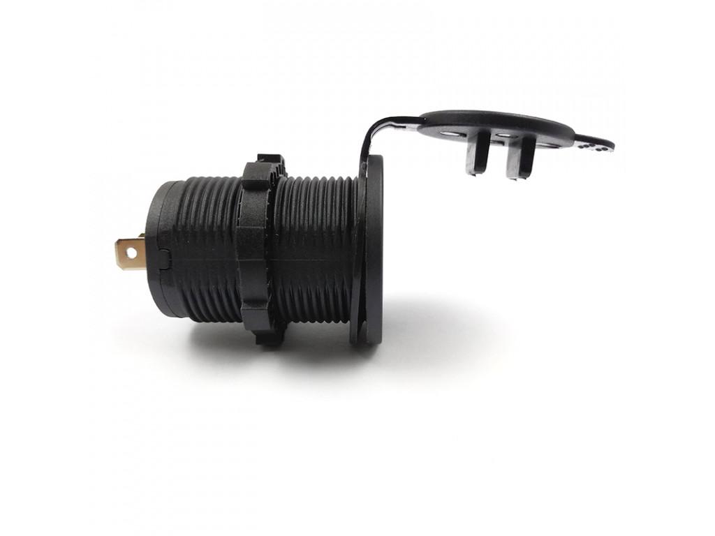 Usb в поезда USB Зарядка для транспорта 2USB 3.1A красная подсветка TUC-CA23-BLK-RED