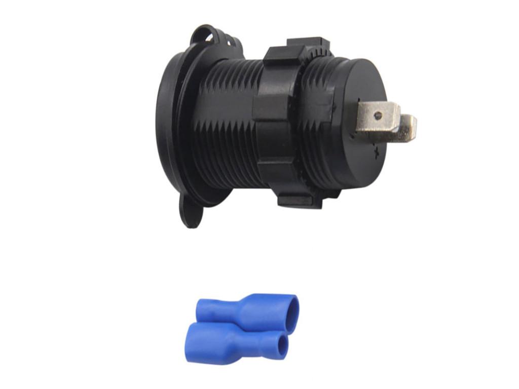 Usb зарядка в вагоны метро USB Зарядка для транспорта 2USB 4.2A красная подсветка TUC-CB24-BLK-RED