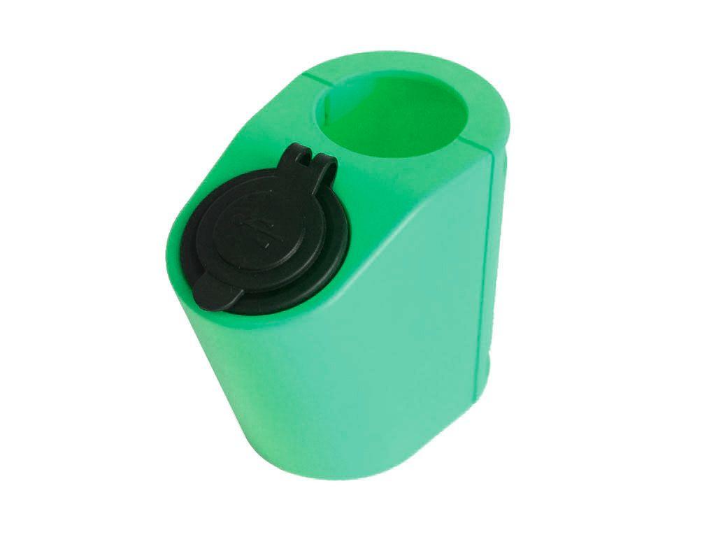 Зарядки на поручнях Держатель USB зарядного устройства на поручень в транспорте зеленый TUC-HLD-HR01-GRN