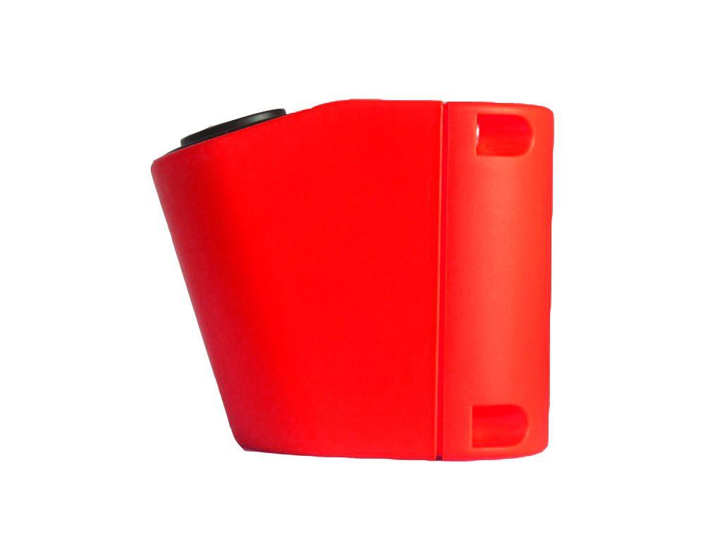 Держатель на поручень Кронштейн для USB зарядки на поручень в транспорте красный TUC-HLD-HR01-RED