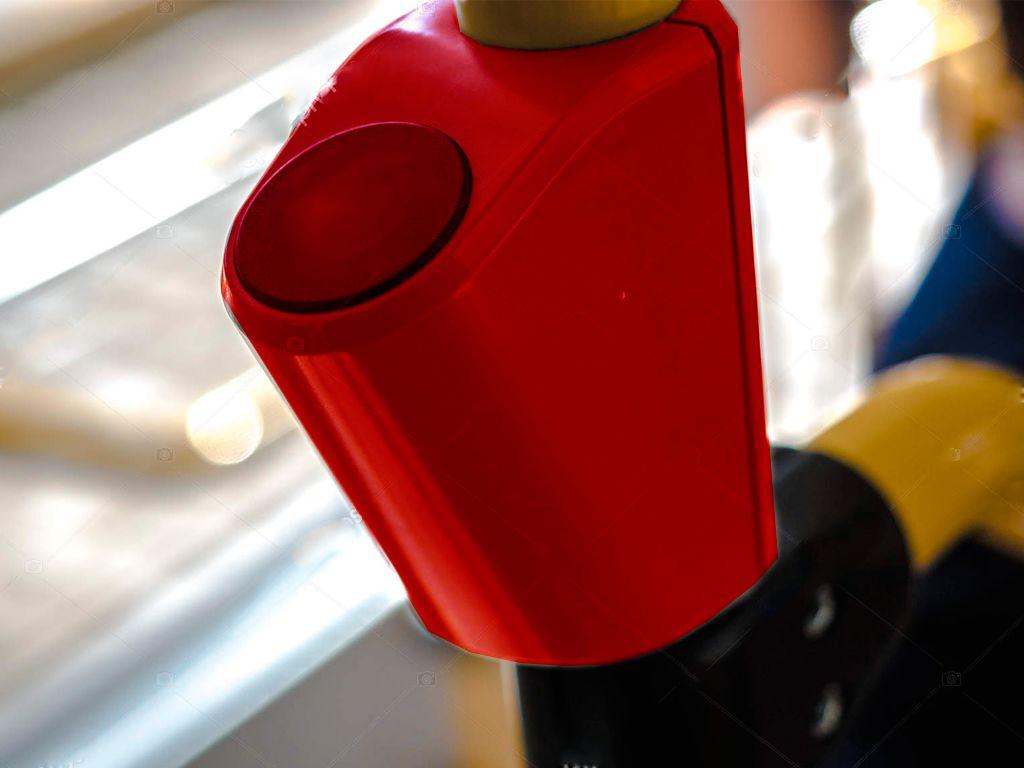 Usb розетка на трубу Кронштейн для USB зарядки на поручень в транспорте красный TUC-HLD-HR01-RED