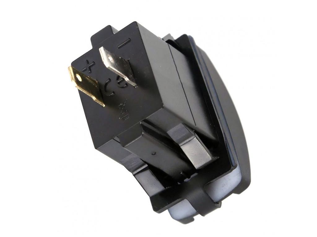 Usb в автобусах USB розетка в транспорт 2 USB 3.1A белая подсветка TUC-RA23-BLK-WHT