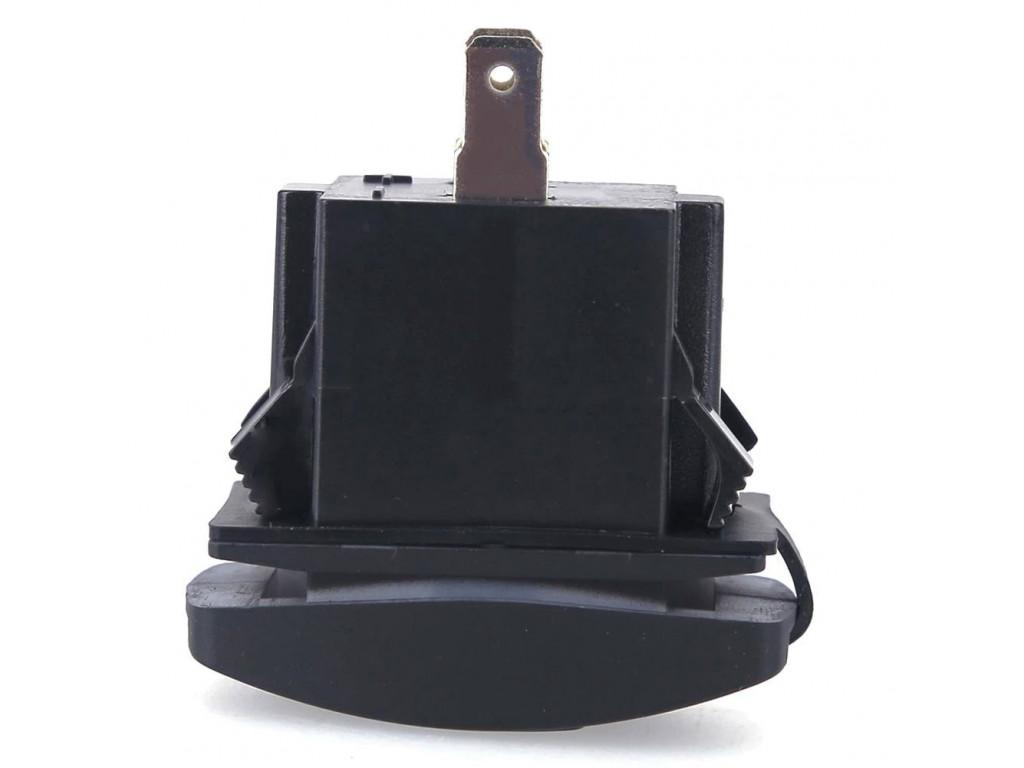 Usb зарядка в поездах USB розетка в транспорт 2 USB 3.1A белая подсветка TUC-RA23-BLK-WHT