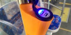 Зарядные USB устройства в Электробус