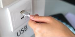 USB зарядки для поездов Метро