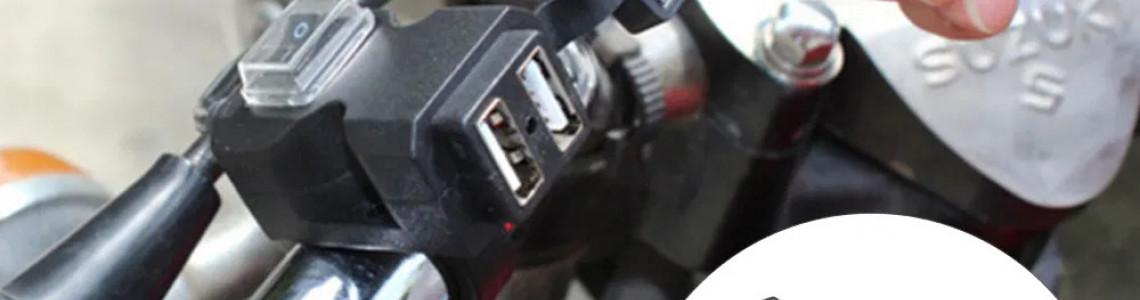 Скутер с USB зарядным устройством
