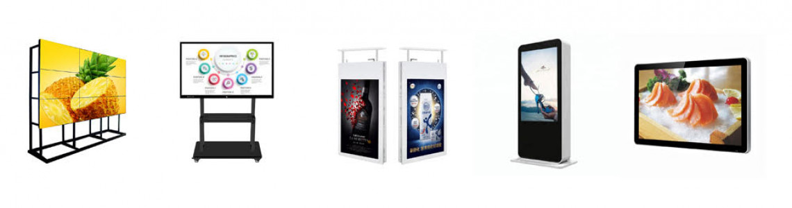 Рекламные и информационные экраны