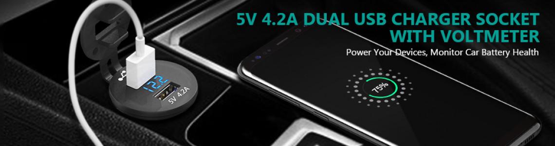 Зарядка USB для Проката авто и Каршеринга