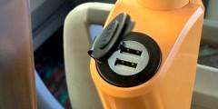 USB зарядные устройства в Автобус
