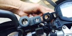 USB зарядка на Мотоцикл
